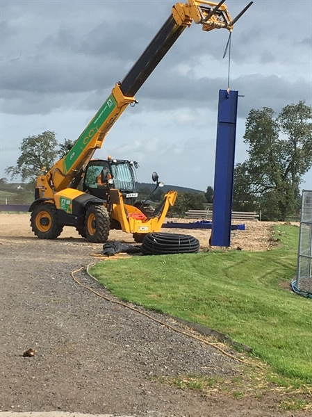 Work begins at Marwood Equestrian